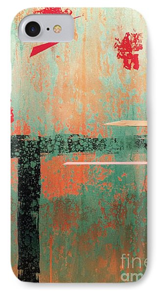Buried Cities Beneath IPhone Case by Theresa Kennedy DuPay