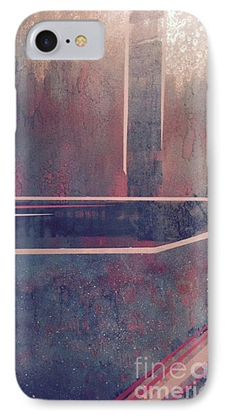 Buried City Above IPhone Case by Theresa Kennedy DuPay