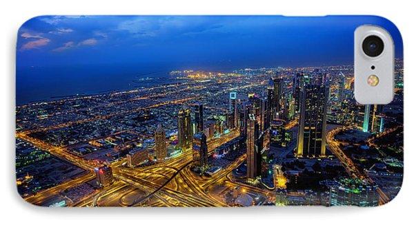 Burj Khalifa View IPhone Case