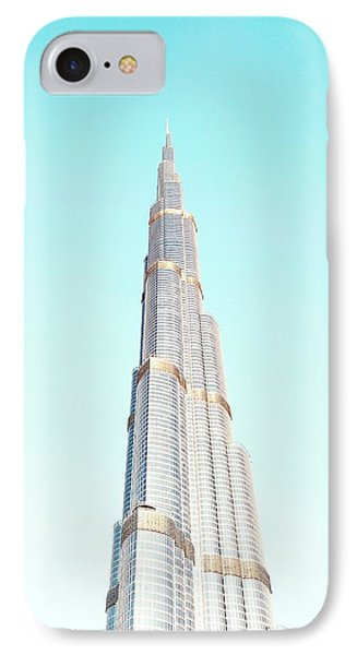 Burj Khalifa IPhone Case by Happy Home Artistry