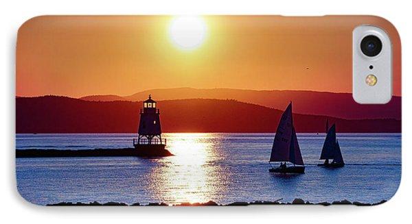 Burlington Breakwater Sunset IPhone Case