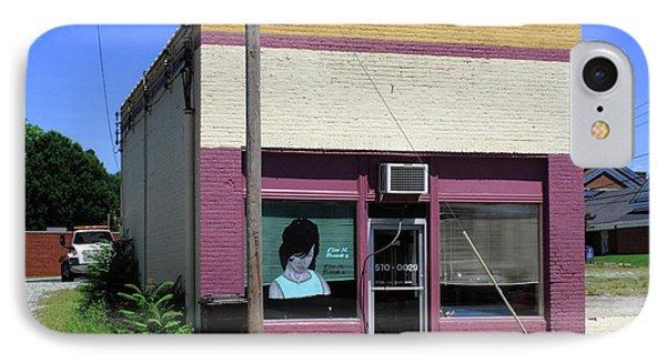 Burlington North Carolina - Small Town Business Phone Case by Frank Romeo