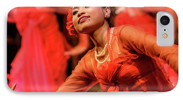 Burmese Dance 1 IPhone 7 Case by Werner Padarin