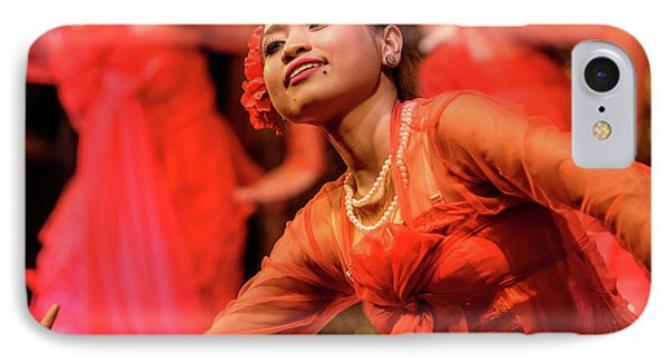 Burmese Dance 1 IPhone Case