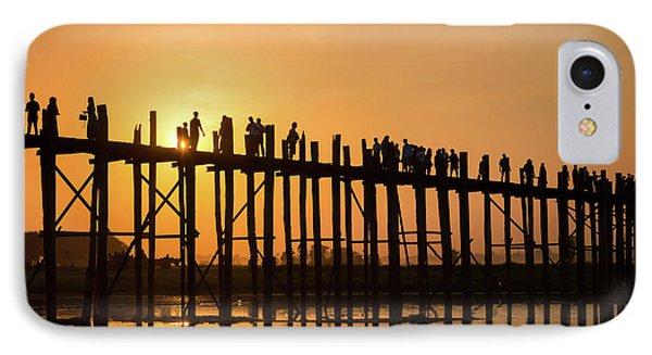 Burmese Python iPhone 7 Case - Burmese Sunset by Delphimages Photo Creations