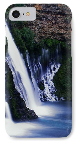 IPhone Case featuring the photograph Burney Blues by Peter Piatt