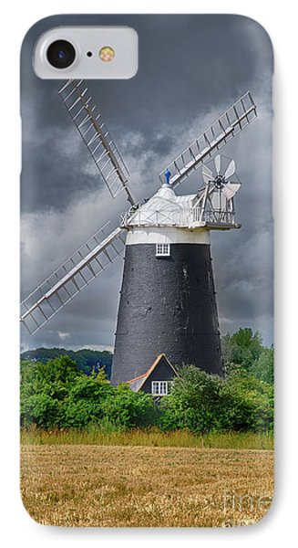 Burnham Overy Mill Phone Case by Steev Stamford