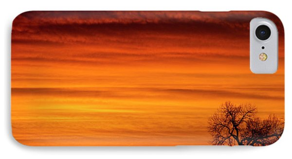 Burning Country Sky Phone Case by James BO  Insogna