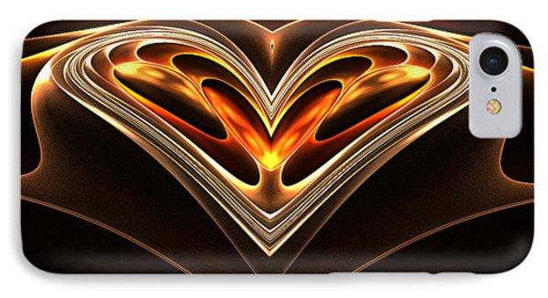 Burning Desire IPhone Case by Sandra Bauser Digital Art