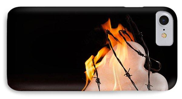 Burning Love IPhone Case by Yvette Van Teeffelen