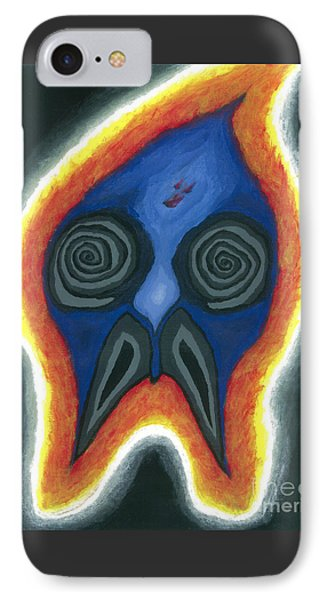 Burning Man IPhone Case by Caleb Grow