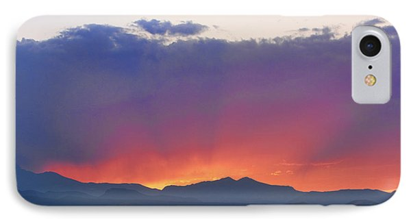 Burning Rays Of Sunset Phone Case by James BO  Insogna