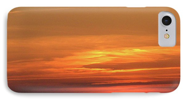 Burning Sunset IPhone Case