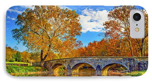 Burnside Bridge At Antietam IPhone Case by Paul W Faust -  Impressions of Light