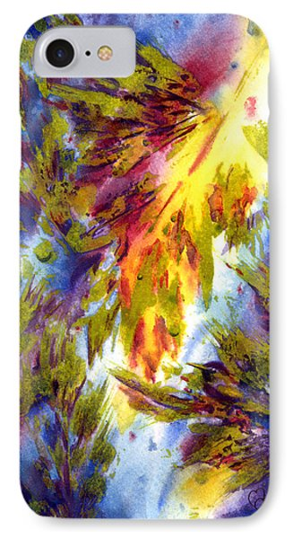 Burst Of Fall IPhone Case