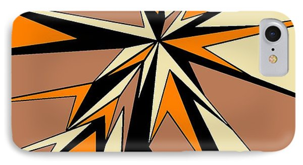 Burst Of Orange 2 IPhone Case