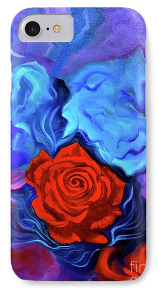 Bursting Rose IPhone Case by Jenny Lee