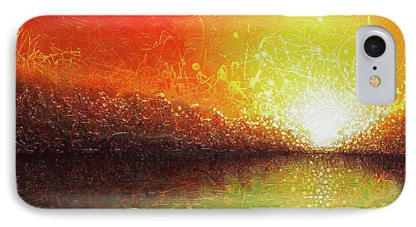 Bursting Sun IPhone Case by Jaison Cianelli