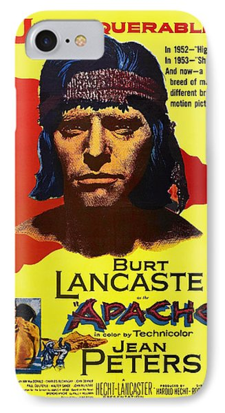 Burt Lancaster As The Apache 1954 IPhone Case by Mountain Dreams