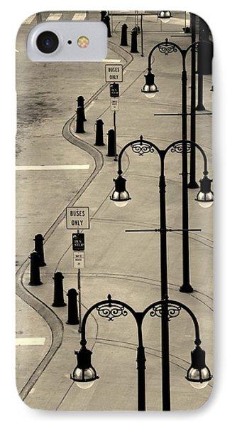 Bus Stop In Nashville Tn IPhone Case by Susanne Van Hulst