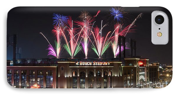 Busch Stadium IPhone Case by Andrea Silies