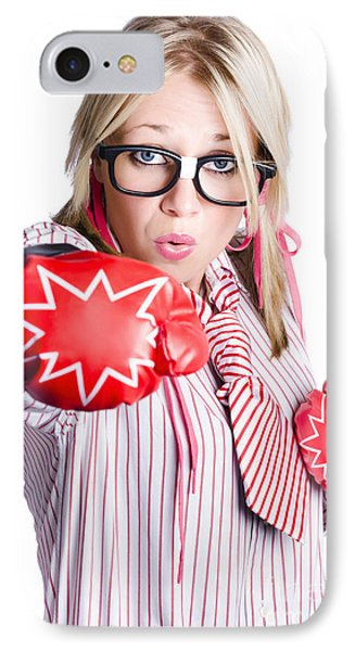 Businesswoman Training Phone Case by Jorgo Photography - Wall Art Gallery