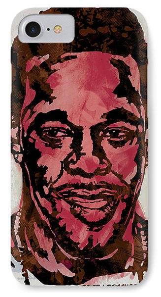Busta Rhymes Pop Stylised Art Sketch Poster IPhone Case by Kim Wang