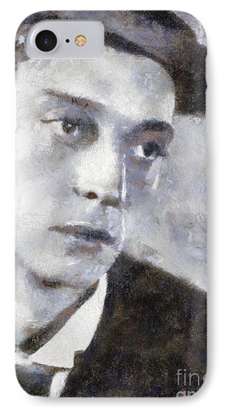 Buster Keaton By Sarah Kirk IPhone Case
