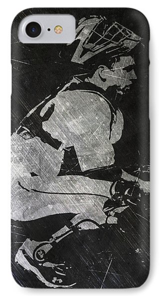 Buster Posey San Francisco Giants Art IPhone Case by Joe Hamilton