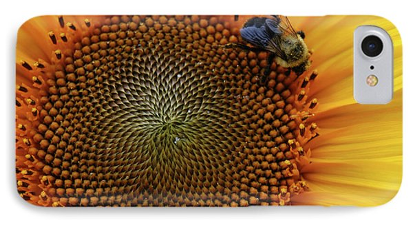 IPhone Case featuring the photograph Busy Bee by Mike Martin