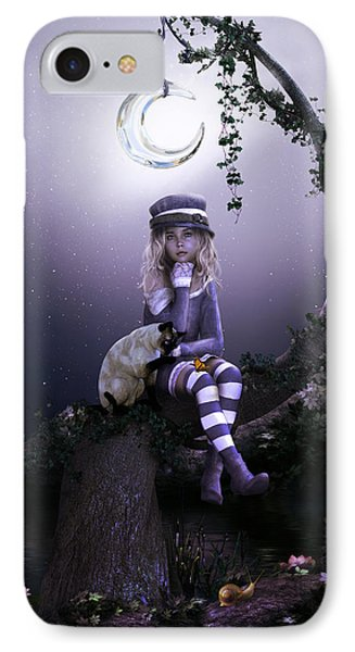 IPhone Case featuring the digital art Busy Doing Nothing by Shanina Conway