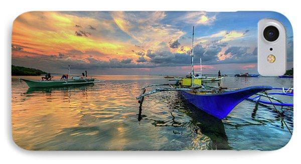 Butalid Causeway Sunset IPhone Case by Yhun Suarez