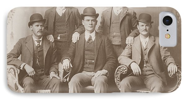 Butch Cassidy - Sundance Kid - Wild Bunch  IPhone Case by War Is Hell Store