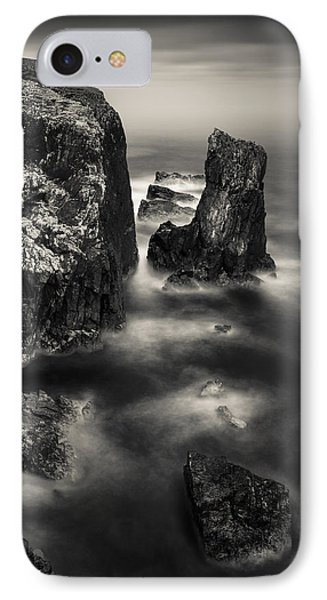 Butt Of Lewis Cliffs IPhone Case by Dave Bowman