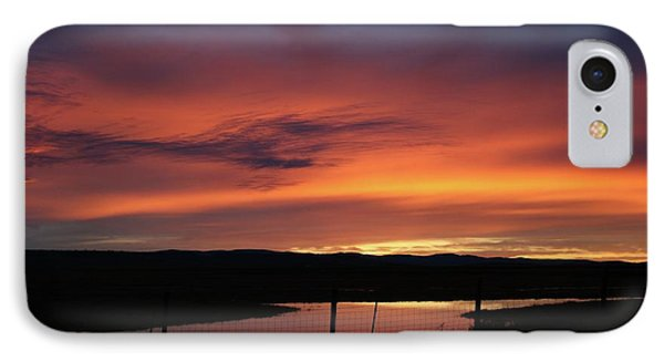 Butte County Sunrise IPhone Case by Suzanne Lorenz