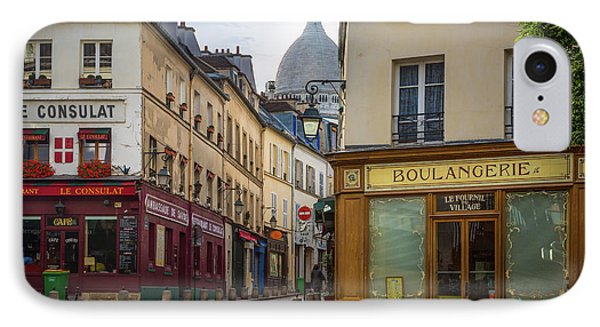 Butte De Montmartre IPhone Case