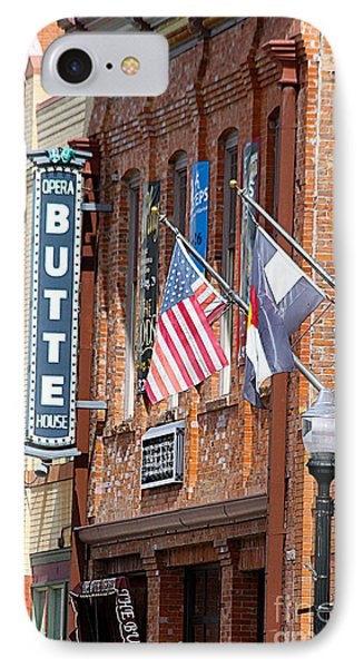 Butte Opera House In Colorado IPhone Case by Catherine Sherman