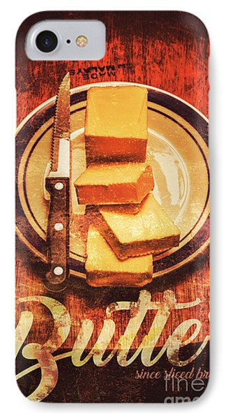 Butter Since Sliced Bread Display IPhone Case by Jorgo Photography - Wall Art Gallery
