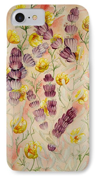 Buttercups And Lavendar IPhone Case