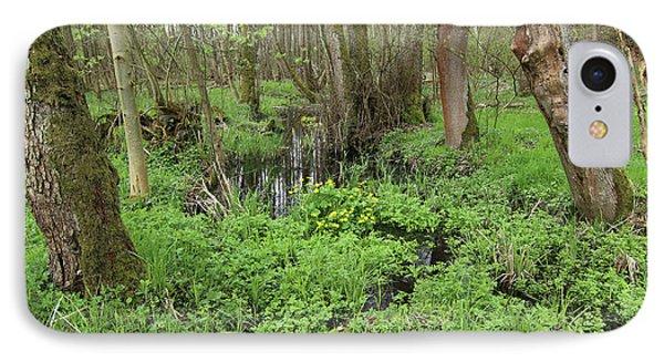 Buttercups In Wetlands IPhone Case by Michal Boubin