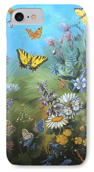 Butterflies And Wildflowers Of Wyoming IPhone Case