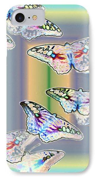 Butterflies In The Vortex Phone Case by Tim Allen