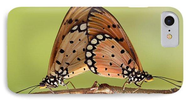 Butterflies Mating IPhone Case by Krisdian Wardana