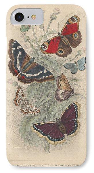 Butterflies IPhone Case by Rob Dreyer