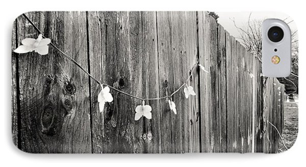 Butterflies On A Rustic Fence IPhone Case by Jeanette O'Toole