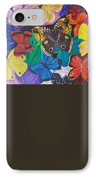 Butterflies 2 IPhone Case