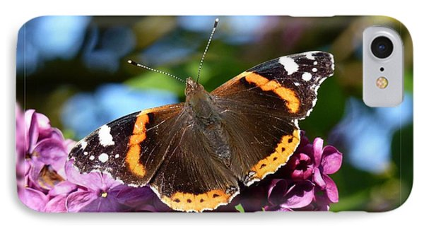 Butterfly 12 Phone Case by Jean Bernard Roussilhe