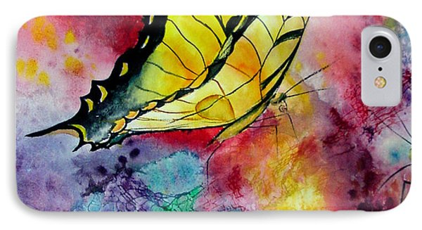 Butterfly 2 Phone Case by Dee Carpenter
