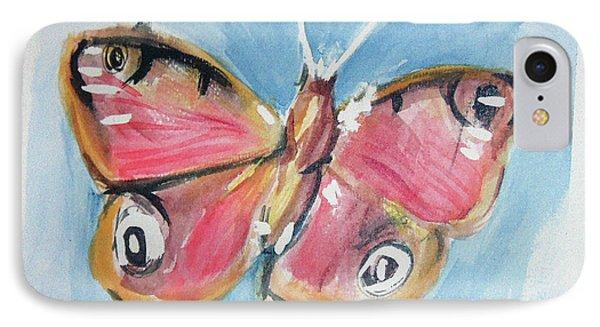 Butterfly 3 Phone Case by Loretta Nash
