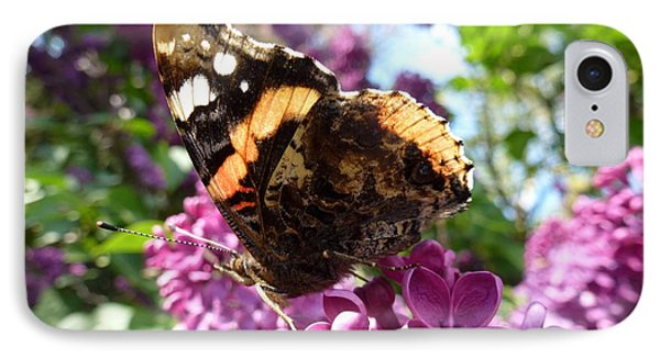 Butterfly 7 IPhone Case by Jean Bernard Roussilhe